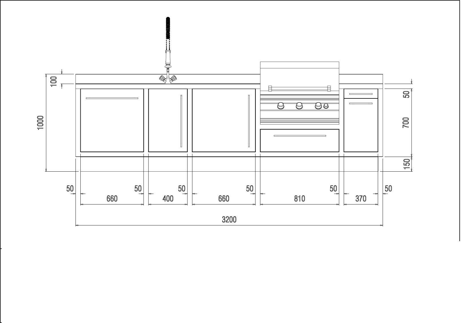 diseño de cocinas de exterior